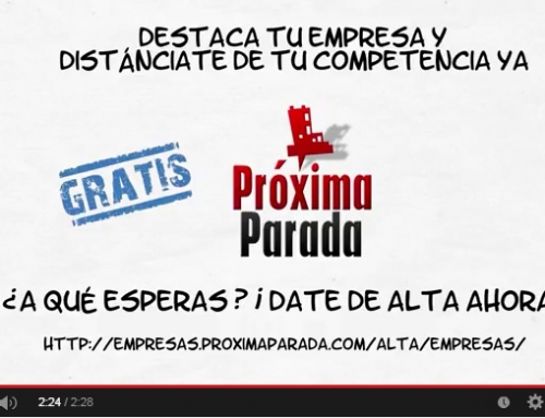 Video promocional para Próxima Parada