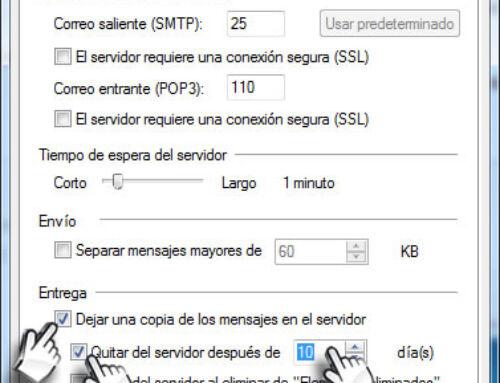 Solucionar problemas de buzón de correo lleno o rechazo de mensajes