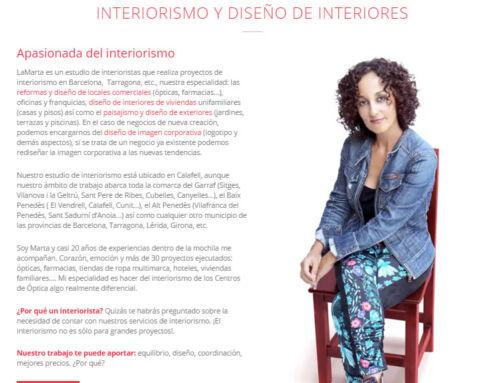 Óptimización web para SEO LaMarta