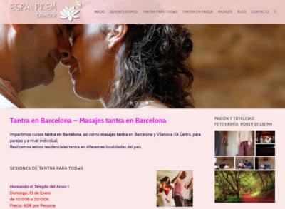 Optimizacion para buscadores y Posicionamiento web: masajes californianos en Barcelona