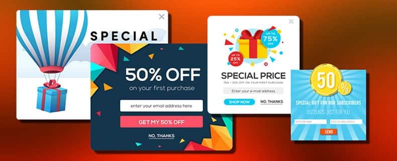 markting online - Ventanas emergentes o pop-ups